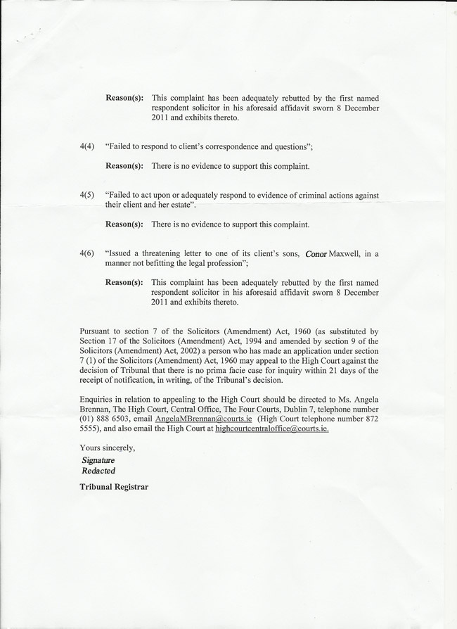 Page 3 of Trubunal decision